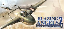 Banner artwork for Blazing Angels® 2: Secret Missions of WWII.