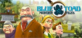 Banner artwork for Blue Toad Murder Files: The Mysteries of Little Riddle.