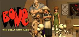 Banner artwork for Bone: The Great Cow Race.