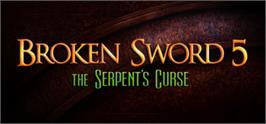 Banner artwork for Broken Sword 5 - the Serpent's Curse.