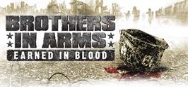 Banner artwork for Brothers in Arms: Earned in Blood.