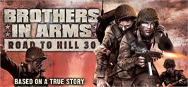 Banner artwork for Brothers in Arms: Road to Hill 30.