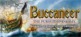 Banner artwork for Buccaneer: The Pursuit of Infamy.