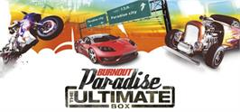 Banner artwork for Burnout Paradise: The Ultimate Box.