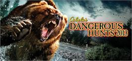 Banner artwork for Cabela's® Dangerous Hunts 2013.