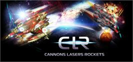 Banner artwork for Cannons Lasers Rockets.