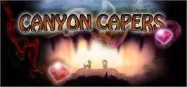 Banner artwork for Canyon Capers.
