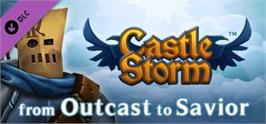 Banner artwork for CastleStorm - From Outcast to Savior.