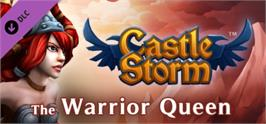 Banner artwork for CastleStorm - The Warrior Queen.