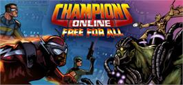 Banner artwork for Champions Online: Free for All.
