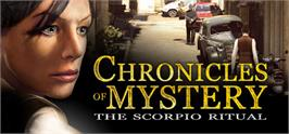 Banner artwork for Chronicles of Mystery: The Scorpio Ritual.