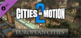 Banner artwork for Cities in Motion 2: European Cities.