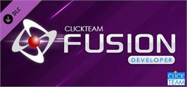 Banner artwork for Clickteam Fusion 2.5 Developer Upgrade.