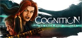 Banner artwork for Cognition: An Erica Reed Thriller.