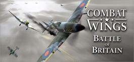 Banner artwork for Combat Wings: Battle of Britain.