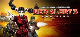Banner artwork for Command & Conquer: Red Alert 3 - Uprising.