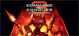 Banner artwork for Command & Conquer 3: Kane's Wrath.
