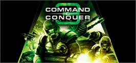 Banner artwork for Command & Conquer 3: Tiberium Wars.