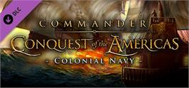 Banner artwork for Commander: Conquest of the Americas - Colonial Navy.