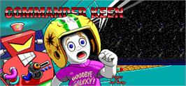 Banner artwork for Commander Keen.