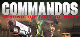 Banner artwork for Commandos: Beyond the Call of Duty.