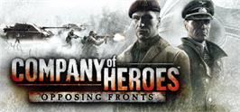 Banner artwork for Company of Heroes: Opposing Fronts.