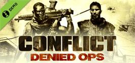 Banner artwork for Conflict: Denied Ops.