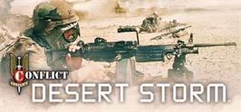 Banner artwork for Conflict Desert Storm.
