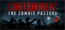 Banner artwork for Containment: The Zombie Puzzler.