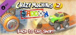 Banner artwork for Crazy Machines 2: Back to the Shop Add-On.