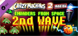 Banner artwork for Crazy Machines 2: Invaders From Space, 2nd Wave DLC.