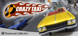Banner artwork for Crazy Taxi.