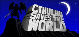 Banner artwork for Cthulhu Saves the World.