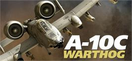 Banner artwork for DCS A-10C Warthog.