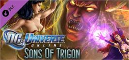 Banner artwork for DC Universe Online - Sons of Trigon.