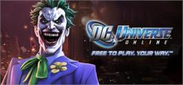 Banner artwork for DC Universe Online Free-To-Play. Your Way..