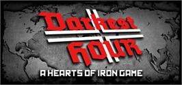 Banner artwork for Darkest Hour: A Hearts of Iron Game.