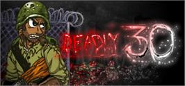Banner artwork for Deadly 30.