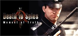 Banner artwork for Death to Spies: Moment of Truth.