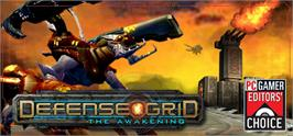 Banner artwork for Defense Grid: The Awakening.
