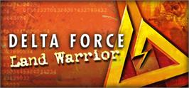 Banner artwork for Delta Force Land Warrior.