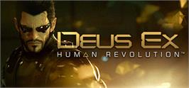Banner artwork for Deus Ex: Human Revolution.