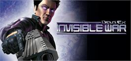 Banner artwork for Deus Ex: Invisible War.