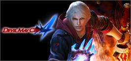 Banner artwork for Devil May Cry 4.