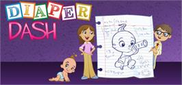 Banner artwork for Diaper Dash®.