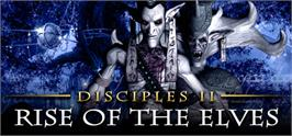 Banner artwork for Disciples II: Rise of the Elves.