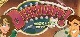 Banner artwork for Discovery! A Seek and Find Adventure.