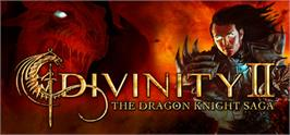 Banner artwork for Divinity II: The Dragon Knight Saga.