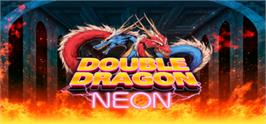 Banner artwork for Double Dragon: Neon.