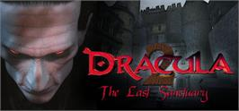 Banner artwork for Dracula 2: The Last Sanctuary.